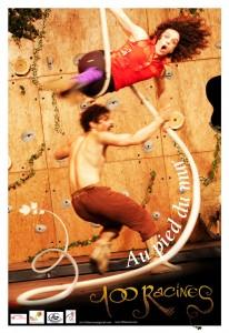 Spectacle de cirque de la compagnie 100 Racines !